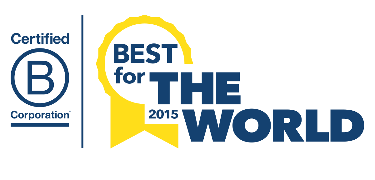 2015 B Corp Best For The World Honorees